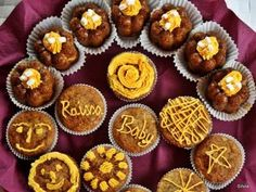 Briose cu banane, super pufoase, Rețetă Petitchef Brownies, Muffins, Food And Drink, Cupcakes, Breakfast, Sweet, Desserts, Sweet Treats, Banana