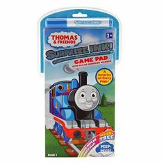 Thomas and Friends Surprize Ink Game Pad by Elmer's Products Inc.. $5.99. All aboard the Thomas & Friends mystery train. There is a surprise on every page! This Thomas the Tank Engine doodling game book comes with clear surprize marker. Use this surprize ink marker to make images magically appear! Game Book with MESS-FREE marke