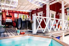 Firewood, Beach House, Cottage, Building, Saunas, Home Decor, Country, Summer, Beach Homes