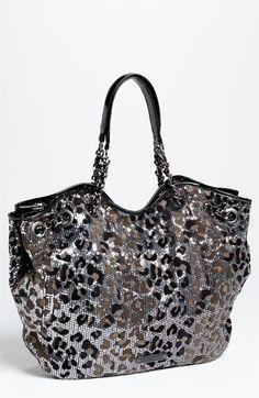 Leapord purse.