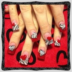 Zebra hearts by Oli123
