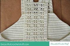 Crochet Halter Top Back