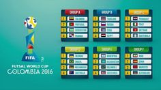 FIFA Futsal World Cup 2016 Schedule Fixtures PDF, Chart:-  The 8th FIFA Fustal World Cup is going to start in Columbia from 10th September 2016.