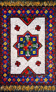Mosaic Entrance Rug