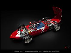 Ferrari 156 F1 Sharknose Monza 1961 #2 Phil Hill | Flickr - Photo Sharing!
