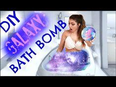 Galaxy Bath Bomb Tutorial - DIY Projects for Teens