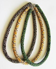 Beaded Jewelry, Handmade Jewelry, Beaded Necklaces, Bead Crochet Rope, Beaded Crochet, Loom Beading, Bead Weaving, Hadi, Seed Beads