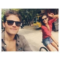 Pin for Later: 20 Times Paul Wesley and Phoebe Tonkin Were Too Cute For Instagram When They Fled to Tulum For a Dreamy Vacation