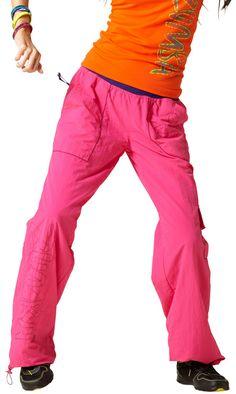 Zumba Logo Cargo Pants - Lollipop