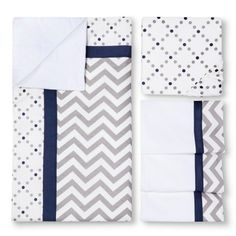 My Baby Sam Out of the Blue 3-Piece Crib Bedding Set : Target