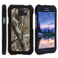 Camo Samsung Galaxy S6 Active Case 1