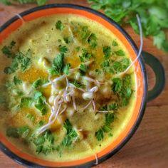 soupe pleine d'énergie pour l'hiver