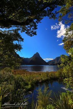 Milford Sound, Southland, New Zealand - Mitre Peak  Is a prominent peak on the south shore of Milford Sound, named because of its resemblance to the shape of the bishop's mitre or head-dress, when viewed from the south. The name was probably given by the ....(to be continued)    -- Photo by Emanuele Del Bufalo