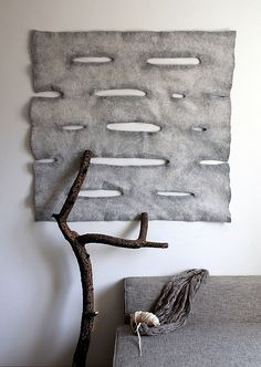 Decor | 装飾 | Decoración | Arredamento | Décor | декорации | Manchester | Furnishings | Interior Design | Details | Felt rug by riturio