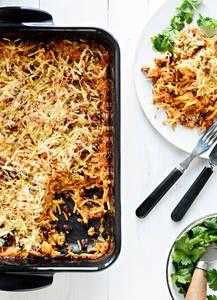 Tulinen spagettivuoka | K-Ruoka