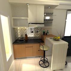 Meja Bar Di Dapur Rumah Minimalis » Gambar 715