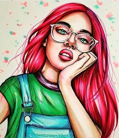 Girl Cartoon, Cartoon Art, Dibujos Pin Up, Desenho Pop Art, Psychedelic Drawings, Girly M, Pop Art Girl, Pop Art Illustration, Digital Art Girl