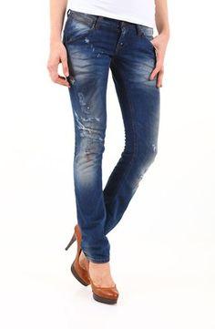 Blugi Sexy Woman albastru prespalat Skinny Jeans, Pants, Fashion, Trouser Pants, Moda, Fashion Styles, Women's Pants, Women Pants, Fashion Illustrations