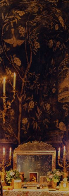 Chinoiserie - Wallpaper