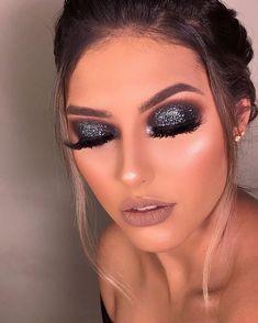 no makeup beauty Fancy Makeup, Glam Makeup Look, Creative Eye Makeup, Makeup Eye Looks, Colorful Eye Makeup, Cute Makeup, Gorgeous Makeup, Skin Makeup, Eyeshadow Makeup