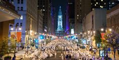 Get ready for the largest Diner en Blanc ever to hit Philadelphia! Thanks Visit Philly and Uwishunu for the preview!