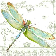 Trademark Fine Art 'Dragonfly Bliss Canvas Art by Jean Plout, Size: 35 x 35 Dragonfly Painting, Dragonfly Art, Dragonfly Quotes, Dragonfly Drawing, Beaded Dragonfly, Artist Canvas, Canvas Art, Canvas Size, Ring Verlobung