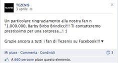 Cosa ne pensate della reazione delle fan di Tezenis alla scelta del Brand di premiare simbolicamente la milionesima fan? http://www.atman.it/social-media/5-tipi-di-consumatori-che-puoi-incontrare-nel-gestire-la-brand-reputation-2-0/ #social #crisi #tezenis