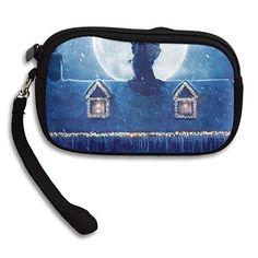Best Christmas House Women's Zipper Small Wallet Purse Porte-monnaie Clutch Cards Holder Wallet Purse Business...   #CarryWithYou