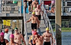 A great day for the Beaufort River Swim