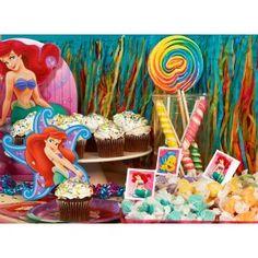 Ariel, Little Mermaid birthday party theme.