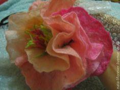 Валяние пышного цветка. Пион - Ярмарка Мастеров - ручная работа, handmade