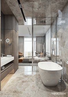 Modern luxury bathroom design ideas for your home Dream Bathrooms, Beautiful Bathrooms, Luxury Bathrooms, Master Bathrooms, Farmhouse Bathrooms, Bathroom Blinds, Bathroom Mirrors, Bathroom Toilets, Small Bathrooms