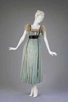 Evening Dress 1916-1918