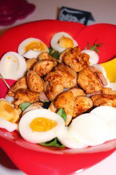 Recettes Faciles & Rapides: Salade de poulet tandoori