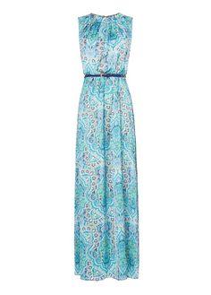 MANGO - Paisley print gown eur 109.99