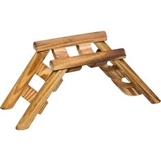 Planet Petco Wood Ladder Bridge Small Animal Chew Toy - this would look so awesome in Boo's cage