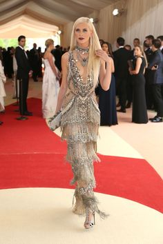 """To fete the """"Manus x Machina: Fashion in the Age of Technology"""" exhibition, the 2016 red carpet brought out beaded, shiny and embellished dresses of every stripe."""