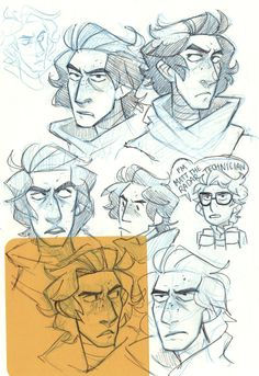 Sketchdump! Some Rens, OCs, abs, and one Matt the Radar Technician :)