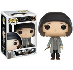 This is the Funko Fantastic Beasts POP Tina Goldstein Vinyl Figure that is produced by Funko. It's neat to see that Funko decided to give the Fantastic Beasts and Where to Find Them characters a line Pop Vinyl Figures, Funko Pop Figures, A Wrinkle In Time, Austin Powers, Jackson 5, Rocky Horror Picture Show, John Deacon, Marvel Vs, Mega Man
