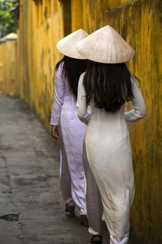 The Traditional Vietnamese Ao Dai Collection by Réhahn