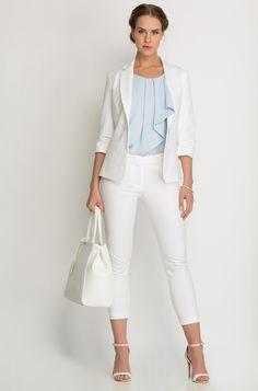 Přiléhavá košilová halenka s drobnými puntíky   Fashion   Pinterest 0078a90679