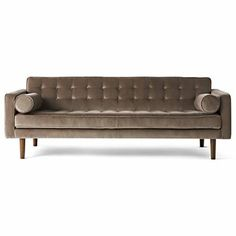 Happy Chic by Jonathan Adler Crescent Heights Tufted Sofa - JCPenney - living room Furniture Deals, Find Furniture, Tufted Sofa, Sofa Bed, Elements Of Style, Jonathan Adler, My Living Room, Sofa Design, Home Accessories
