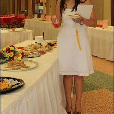 Hp White House Black Market White Dress