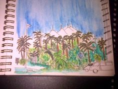 D ' Urban Sketchers beachfront 30 Aug 2015