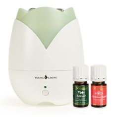 With a beautiful design and enhanced performance, Young Living's new Home Diffuser is an ideal way to infuse the air in your home or office with the benefits of essential oils.  To order: http://www.ylscents.com/oilsfourlife