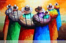 Cactus Painting, China Painting, Painting & Drawing, Guatemalan Art, Hispanic Art, Peruvian Art, South American Art, African Paintings, Southwestern Art