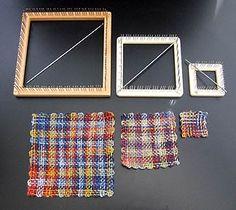 Weaving on hand looms