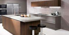 Cappellini cucine  - Cucina Lux Piombo Wood Acacia