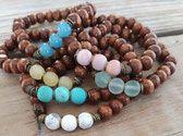 Collection Presque l'Eté Artisanal, Beaded Bracelets, Rock, Collection, Statement Bracelets, The Divine, Pearl Bracelets, Skirt, Locks