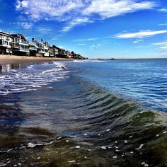 """@pepperdinebaseball's photo: """"Taking a swim in the ocean. Why?  Because it's Malibu and I can!  Haha. Gotta love winter in Malibu. Enjoy what you have. #malibu #fitness #exercise #pepperdine #fit #swim #glassy #waves #pacific #ocean"""""""